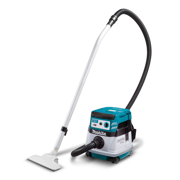 Makita 36V (18V x 2) Dust Extractor with AWS (Tool Only)