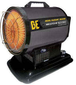 BAR Radiant Diesel Heater 70000BTU