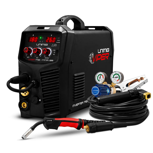 Unimig Viper185 Multi-Function Inverter Welder