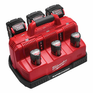 Milwaukee 3 bay rapid charger