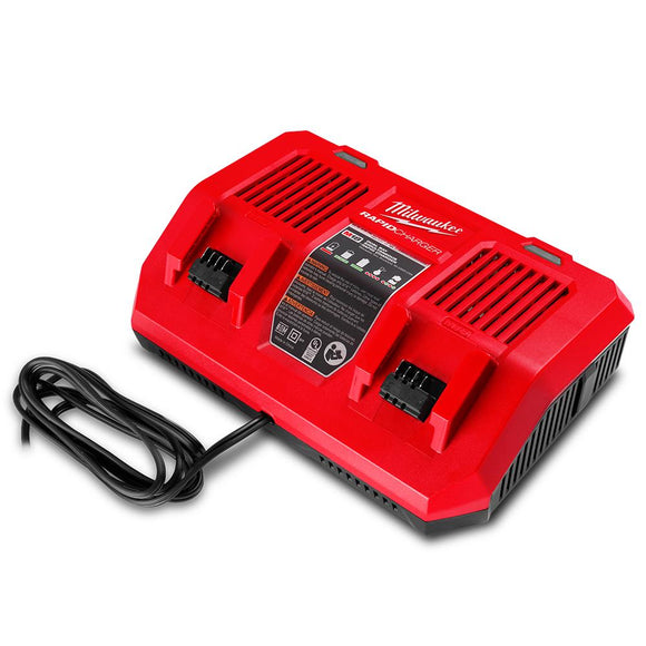 Milwaukee 18V Li-ion Dual Port Simultaneous Rapid Charger