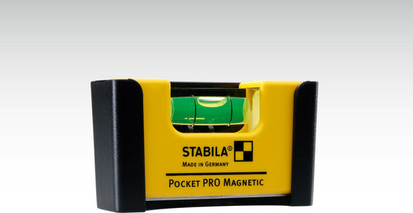 Pocket PRO Magnetic Spirit Level with Belt Clip