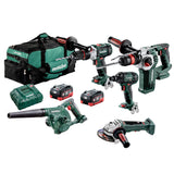 Metabo 18V 5 Piece Brushless LiHD Combo