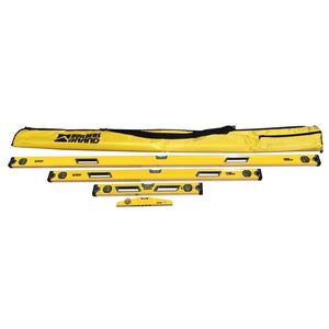 4 Pce Spirit Level Set  - Builder Brand