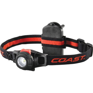 Coast Wide Angle Flood Beam LED Headlamp - 295 Lumens