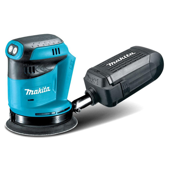 Makita 18V 125mm Random Orbital Sander - Skin Only