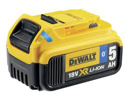 Dewalt 18V 5.0ah Battery with Bluetooth