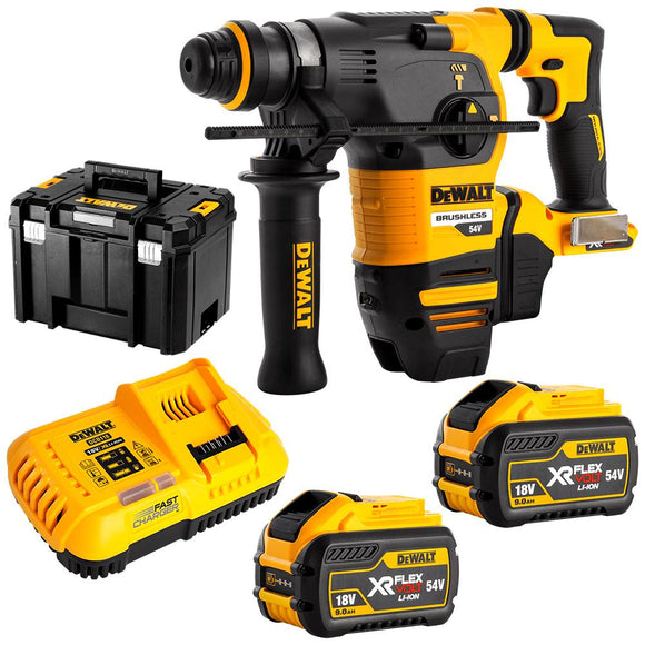 DeWalt Flexvolt SDS+ 3Mode Rotary Hammer Kit