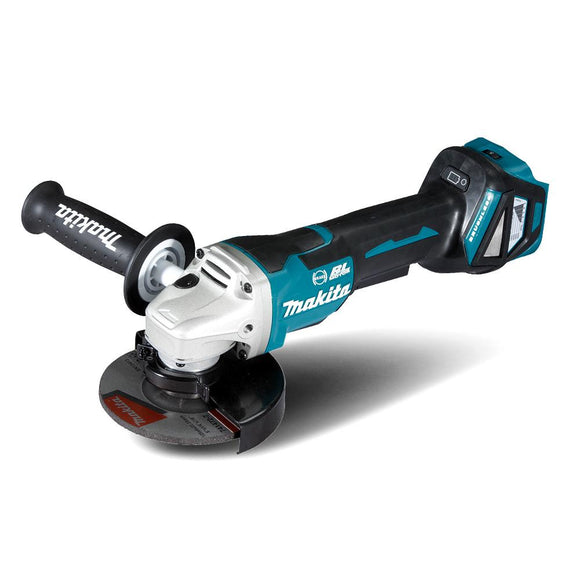 Makita 18V Brushless 125mm Grinder Variable Speed - Skin Only