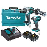 Makita 18V 5.0Ah Brushless 2 Piece Driver Combo Kit