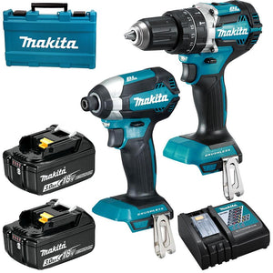 Makita 2pc Brushless 3.0Ah Combo Kit