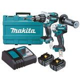 Makita 18V Mobile 5.0Ah Brushless 2 Piece Wrench Combo Kit
