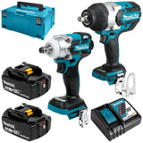 Makita 18v 2Pc Brushless Impact Wrench Kit
