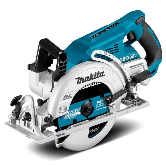 Makita 18Vx2 Brushless 185mm Rear Handle Saw