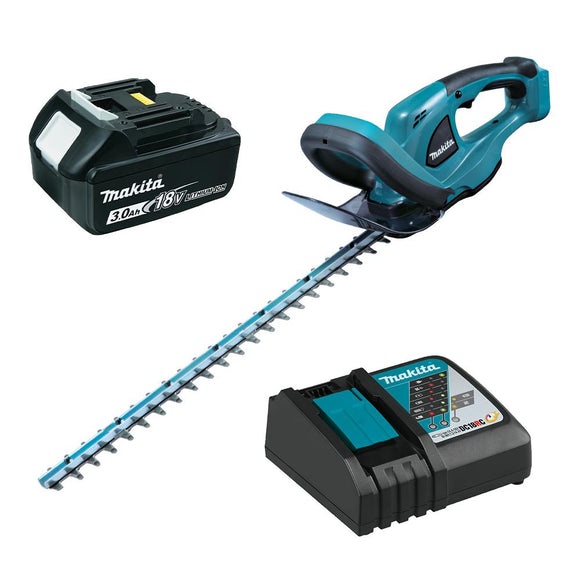 Makita 18V 5.0Ah LXT Li-Ion Cordless Hedge Trimmer Combo Kit