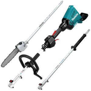 Makita 18x2V Brushless Multi-Function Power Head with Polesaw