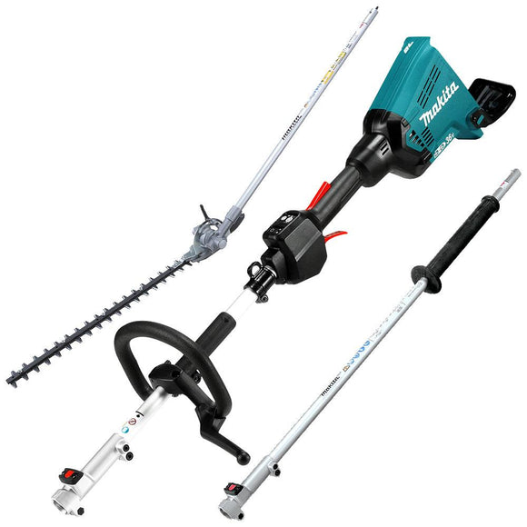 Makita 18x2V Brushless Multi-Function Power Head with Hedgetrimmer