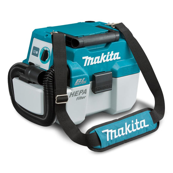 Makita 18V Brushless Wet/Dry Dust Extractor Vacuum - Skin Only