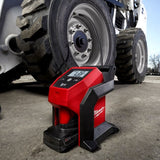 Milwaukee 12V Li-ion Cordless Compact Tyre Inflator - Skin Only