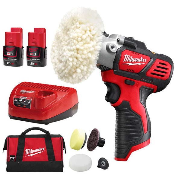 Milwaukee M12 Spot Polisher Kit
