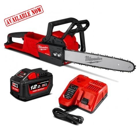 Milwaukee M18 Fuel Chainsaw Kit 12.0Ah Cordless Tools