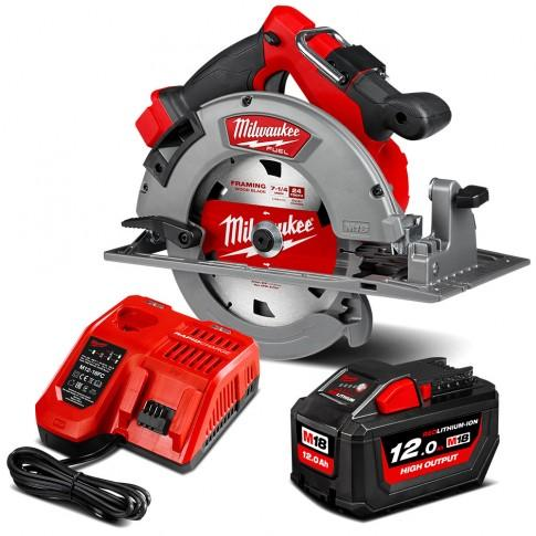 Milwaukee M18 Fuel 185Mm Circular Saw Kit 12.0Ah Cordless Tools