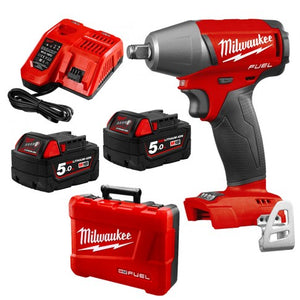 "Milwaukee 18V Fuel 1/2"" Impact Wrench with Friction Ring"