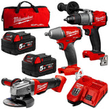 Milwaukee M18 Gen3 Fuel Kit 3B