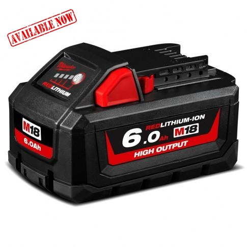 Milwaukee M18 6.0Ah Battery