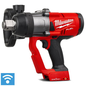 "Milwaukee 18V Li-ion Cordless Fuel ONE-KEY 1"" High Torque Impact Wrench - Skin Only"