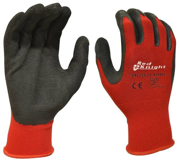 Maxisafe Red Knight Gloves