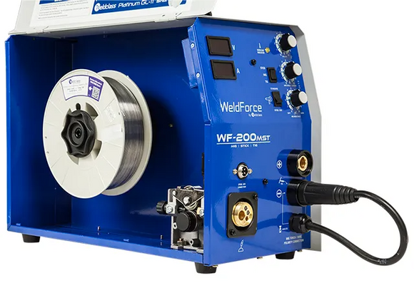 WeldForce 200A Multi Process Mig/Stick/TIG Welder