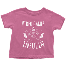 VIDEO GAMES & INSULIN TOPS