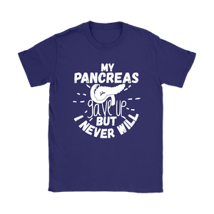 PANCREAS GAVE UP TEE