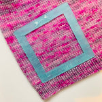 "The Knit Kit Sea Glass Acrylic 4"" Swatch Ruler by Katrinkles"