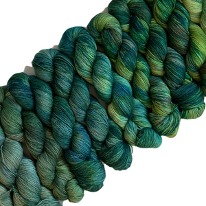 Load image into Gallery viewer, Summer Camp Yarn - Wonder Wall GREENS