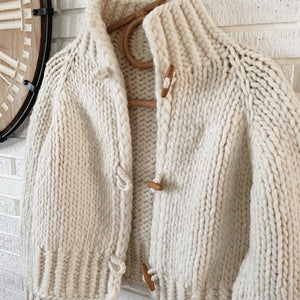 Moxie Jacket by Caidree Summer Camp Yarn Kit - Dive