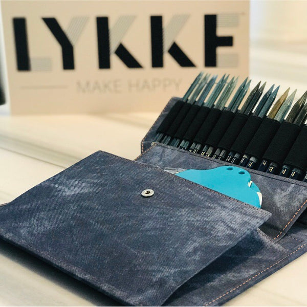 LYKKE Interchangeable Driftwood Knitting Needle Set