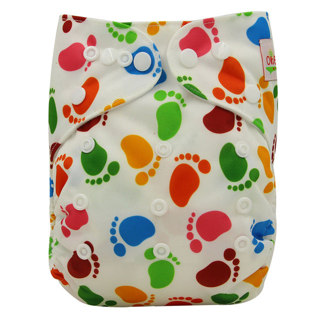 Baby Cloth Diapers Ohbabyka Reusable Nappies Character Unisex Baby