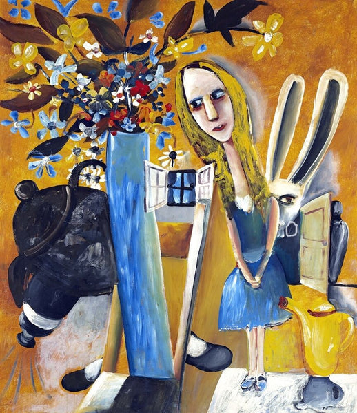 "CHARLES BLACKMAN ""Alice in Wonderland"" Signed, Limited Edition Print 84cm x 66cm"