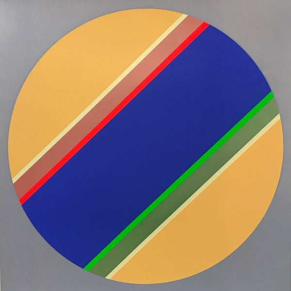"SYDNEY BALL ""Canto No XII"" Signed, Limited Edition Silkscreen 68cm x 68cm"
