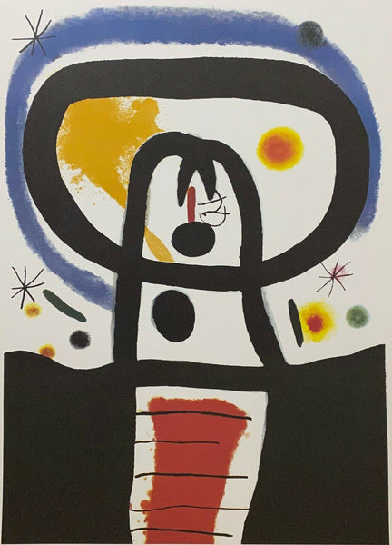 "JOAN MIRO ""Equinox"" Limited Edition Colour Lithograph"