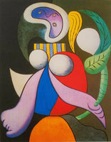 "PABLO PICASSO ""Woman With Flower"" Limited Edition Colour Giclee"