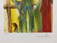 "SALVADOR DALI ""Le Centurion"" Limited Edition Colour Lithograph"