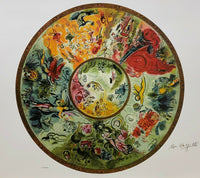 "MARC CHAGALL ""Paris Opera Ceiling"" Limited Edition Colour Lithograph"