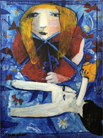 "CHARLES BLACKMAN ""Metamorphosis"" LARGE Signed Limited Edition Print 100cm x 75cm"