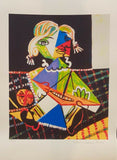 "PABLO PICASSO ""Mona With Boat"" Limited Edition Colour Giclee"