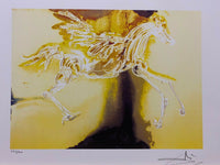 "SALVADOR DALI ""Pegasus"" Limited Edition Colour Lithograph"