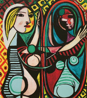 "PABLO PICASSO ""Girl Before A Mirror"" Limited Edition Colour Giclee"