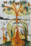"SALVADOR DALI ""Mad Tea Party"" Limited Edition Colour Lithograph"